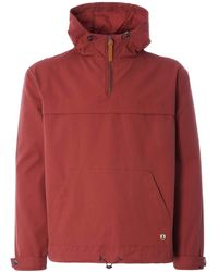 Armor Lux 74724 Water Repellent Smock - Red