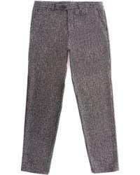 Oliver Spencer Fishtail Talborne Trousers - Charcoal - Gray