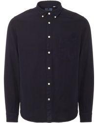 NN07 - Navy Falk Shirt - Lyst