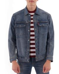 Levi's Lej Trucker Denim Jacket - Indigo - Blue
