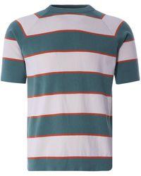 Far Afield Newport T-shirt - Blue