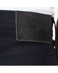 Naked & Famous Easy Guy Firewall Selvedge Denim Jeans - Blue