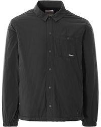 Gramicci Nylon-fleece Coach Shirt - Black