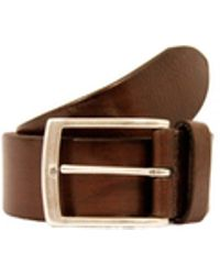 Andersons - Andersons Brown Leather Belt - Lyst