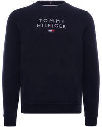 Tommy Hilfiger Th Flex Fleece Sweatshirt - Blue