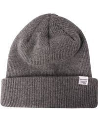 8edf643ac Norse Projects Norse Texture Beanie in Blue for Men - Lyst