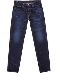 Edwin Regular Tapered Nihon Menpu Jeans - Blue