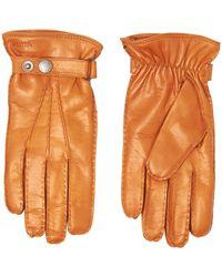 Hestra Cork Jake Hairsheep Leather Gloves 23530-710 - Orange