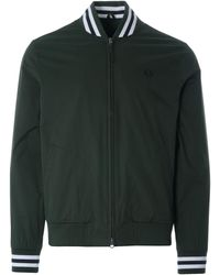 Fred Perry Tennis Bomber Jacket - Green