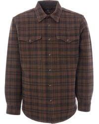Filson Beartooth Jac-shirt - Dark Brown & Charcoal