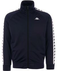 Kappa Taped Anniston Track Top - Blue
