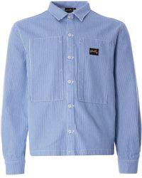 Stan Ray Prison Shirt - Blue
