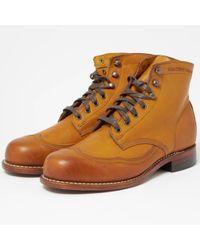 Wolverine Addison Tan Boot - Multicolour
