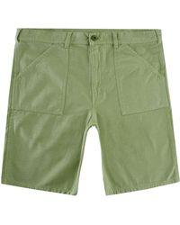 Stan Ray Fat Shorts Cotton Sateen - Green