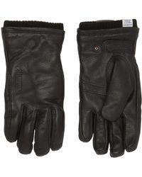 Norse Projects - Black Utsjo Gloves - Lyst