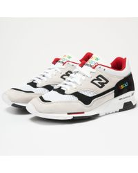 New Balance - Colour Prisma Made In England 1500 - Off White & Black - Lyst