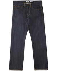 Edwin Ed-47 Red Listed Selvage Denim - Blue