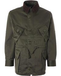 Monitaly Military Half Coat Type B Vancloth Sateen - Green