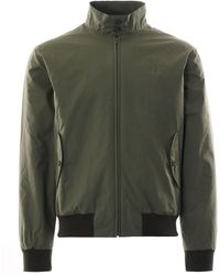 Fred Perry Made In England Harrington Jacket - Green