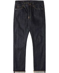 Edwin Ed 39 Jeans 63 Rainbow Selvage Blue Unwashed
