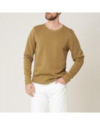 S.N.S Herning - Camel Pace Crew Neck Sweatshirt - Lyst