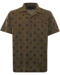 Filson Smokey Bear Camp Shirt - Green