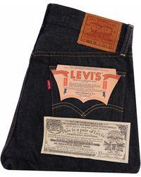 Levi's 1954 501 Rigid Denim Jeans - Blue