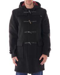 Gloverall Morris Duffle Coat - Black