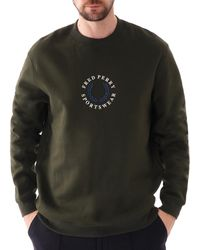 Fred Perry Branded Sweatshirt - Multicolour
