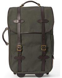 1556ba876452 Filson Otter Small Rolling Duffle Bag in Black for Men - Lyst