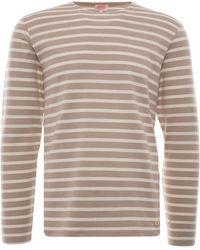 Armor Lux Breton Striped Shirt - Natural