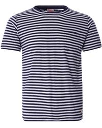 Armor Lux Striped Heritage T-shirt - Blue