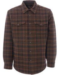 Filson Beartooth Jac-shirt - Dark Brown & Charcoal 20067693