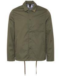 Farah Military Green Marr Coach Jacket