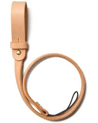 Tanner Goods - Tanner Leather Goods Natural Long Tether - Lyst