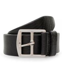 Andersons Grain Leather Belt - Black