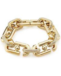 Marc Jacobs - Embellished Link Bracelet - Lyst