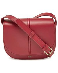 A.P.C. - Betty Leather Shoulder Bag - Lyst