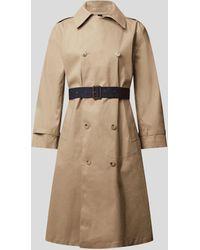 Mackintosh Trenchcoat aus Baumwolle - Natur