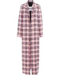 MSGM | Printed Cotton Coat | Lyst