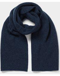 Boglioli Moderner Schal - Blau