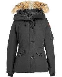 Canada Goose - Montebello Down Parka With Fur Trim - Lyst