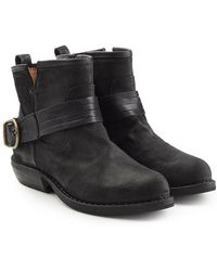 Fiorentini + Baker - Cuppi Leather Ankle Boots - Lyst