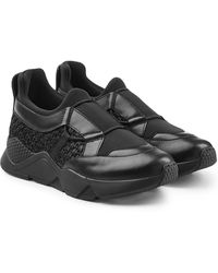 Robert Clergerie - Salvy Trainers With Leather - Lyst