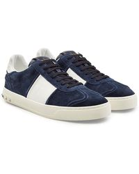 Valentino - Gazelle Suede Sneakers With Rockstuds - Lyst