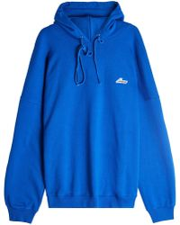 we11done - Cotton Hoody - Lyst