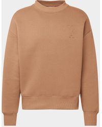 AMI - Sweatshirt im Oversized-Look - Lyst