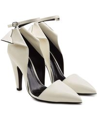CALVIN KLEIN 205W39NYC - Kadence Leather Court Shoes - Lyst