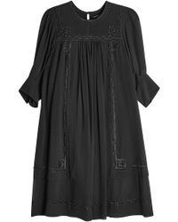 Isabel Marant - Embroidered Silk Dress - Lyst