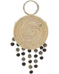 Soraya Hennessy The Naveah Straw Handbag - Natural